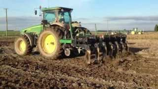 John Deere 8330 - Great Plains Subsoiler