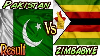 Pakistan Vs Zimbabwe ICC Cricket World Cup 2015 Match Result (NOT A ACTUAL FOOTAGE)
