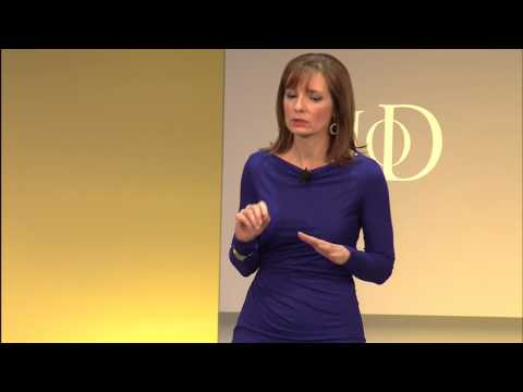 Susan Sobbott, American Express, speaking at the IoD Annual