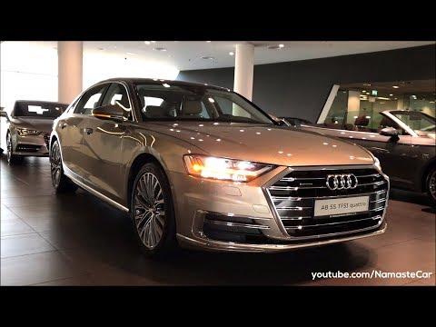 Audi A8 L 55 TFSI quattro D5 2018   Real-life review