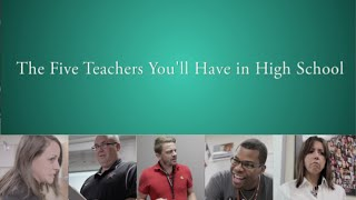 Gambar cover KCBY: The Five Teachers You'll Have In High School