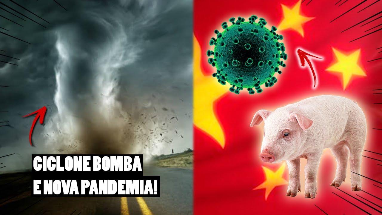 CICLONE BOMBA E NOVA PANDEMIA!