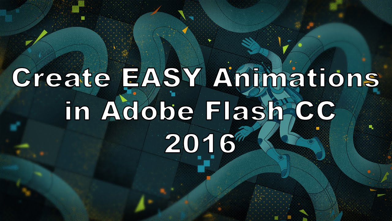 How To Animate Adobe Flash Cc 2016 (beginners)