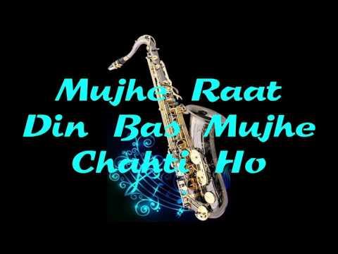 #129:-Mujhe Raat Din Bas Mujhe Chahti Ho |Sangharsh| Sonu Nigam | Instrumental |Saxophone Cover