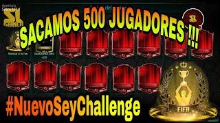 ¡¡SACAMOS 500 JUGADORES DEL TORNEO SEMANAL!! #NuevoSeyChallenge [FIFA18 MOBILE] 🏆😱🏆😱🏆