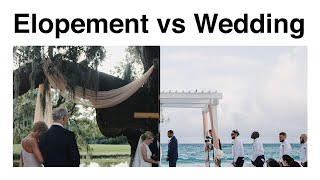 Elopement vs Traditional Wedding | Wedding Planning