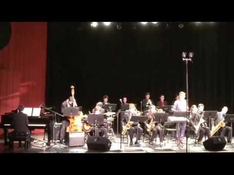 Nassau Suffolk Jazz Band. Central Park North. CW Post Tilles Center. 1/31/15