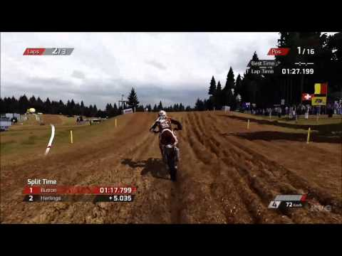 MXGP - The Official Motocross Videogame - Kegums Latvia Gameplay [HD]