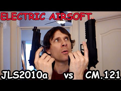 CM.121 $65 Electric Airsoft Pistol VS $25 Review Comparison