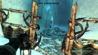 Skyrim: Dawnguard Walkthrough in 1080p, Part 61: Into the Glacial Crevice (Let's Play, 1080p)