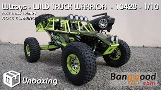 • WLtoys - Wild Warrior Truck - 10428 - Unboxing •