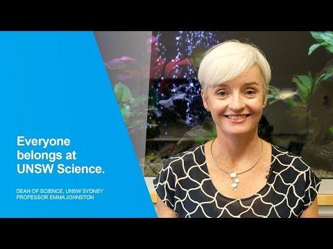 Everyone belongs at UNSW Science