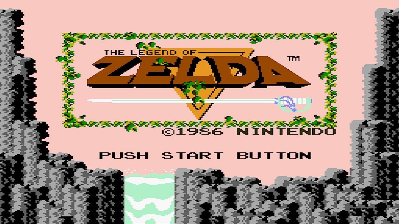 The Legend of Zelda (NES) - 100% Full Game Walkthrough