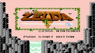 The Legend of Zelda (NES) - 100% Full Game Walkthrough