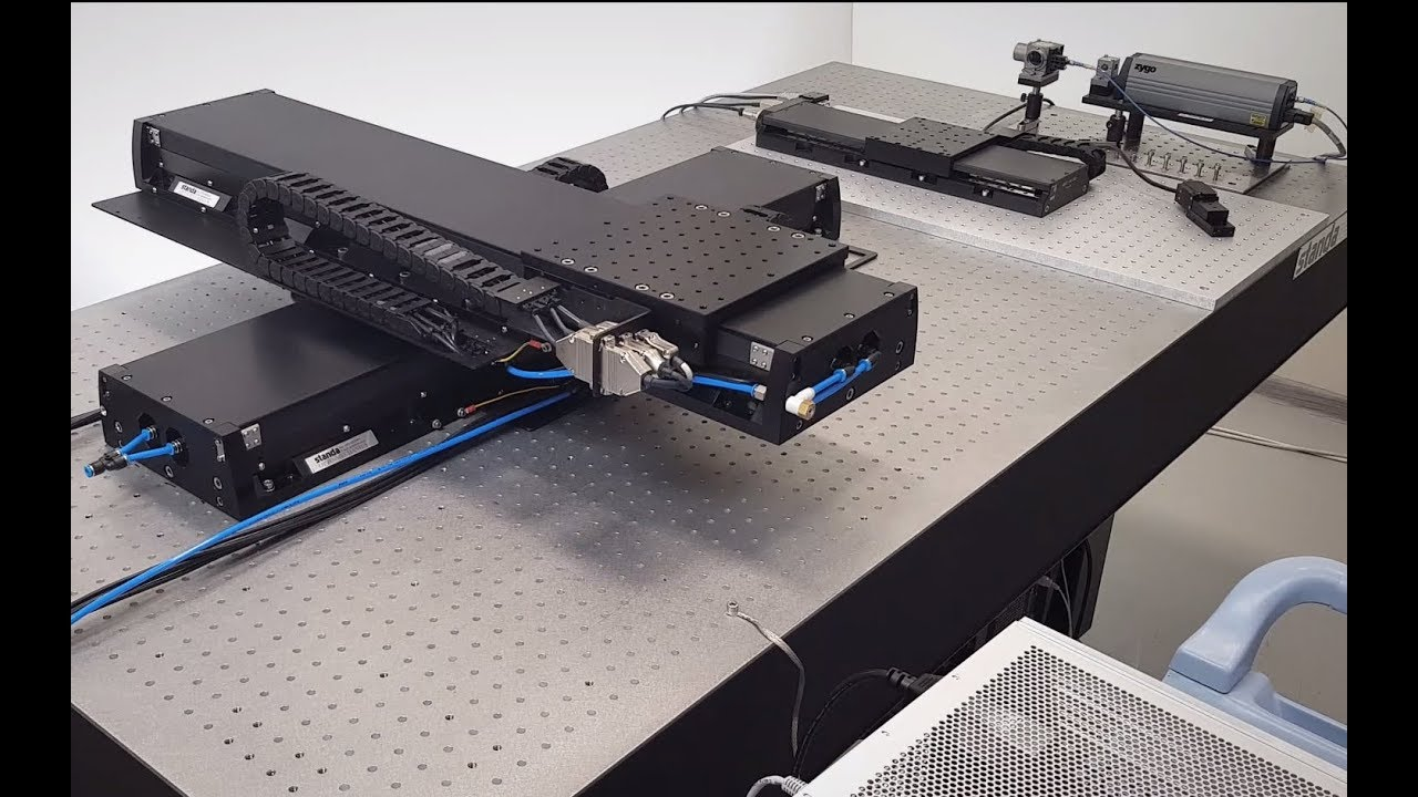 Direct Drive Linear Motor XY Stage (High Load, Long Travel)