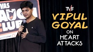 Vipul Goyal on Heart Attacks || Watch Humorously Yours Full Season on TVFPlay