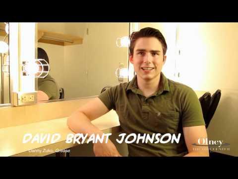 David Bryant Johnson as DANNY ZUKO - GREASE at Olney Theatre Center