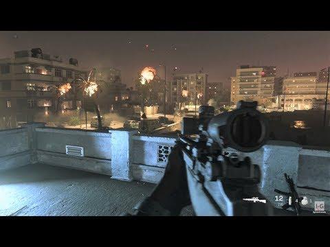 Night Sniper Mission - Call of Duty: Modern Warfare