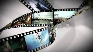 After Effects template Film Rolling