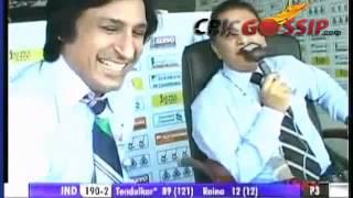 WHAT (Sunil Gavaskar) THINKS ABOUT  MR.IMRAN KHAN    2012
