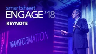 Smartsheet ENGAGE 2018 Keynote
