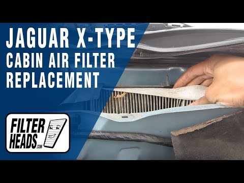 How to Replace Cabin Air Filter Jaguar X-Type