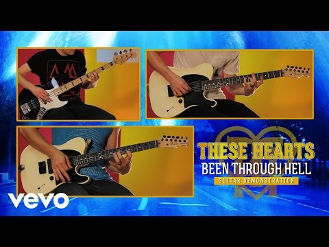 "These Hearts - ""Been Through Hell"" Guitar Demonstration"