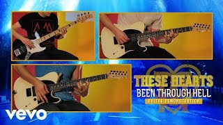"""These Hearts - """"Been Through Hell"""" Guitar Demonstration"""