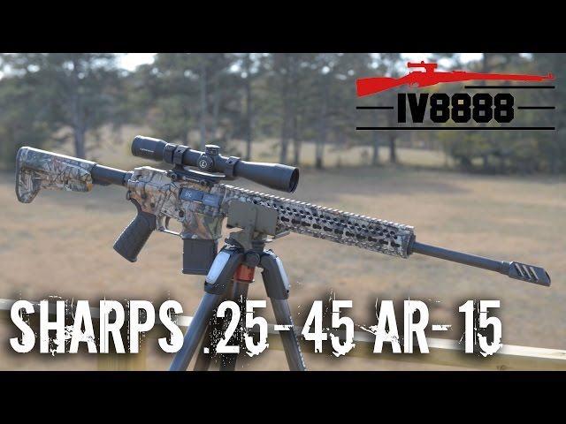 Sharps .25-45 Factory Rifle Overview