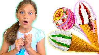 Ева и история про сладости и мороженое - Фантазии Евы
