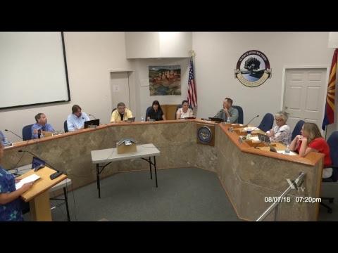 Cottonwood City Council August 7 2018 Regular Meeting