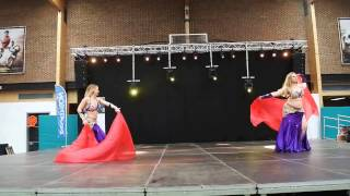 Bellydance by Johanna - Duo Yohara - Spring Dance Event Hasselt 2017