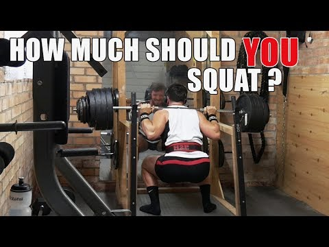 WHAT SHOULD THE AVERAGE PERSON BE ABLE TO SQUAT? - YouTube