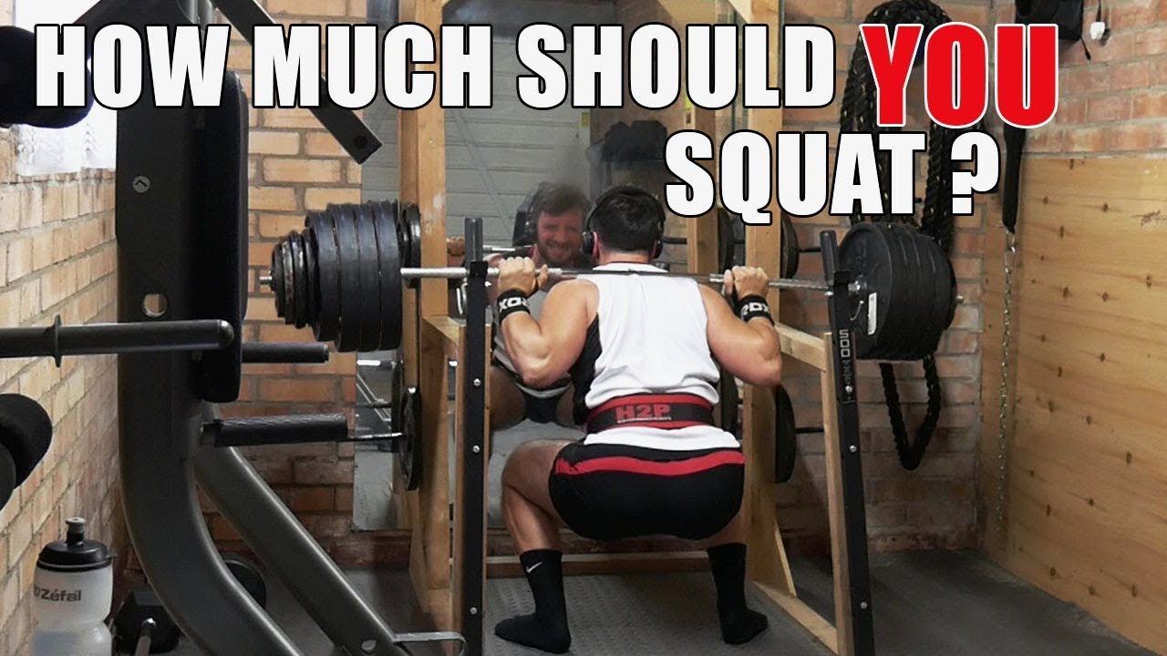 WHAT SHOULD THE AVERAGE PERSON BE ABLE TO SQUAT?