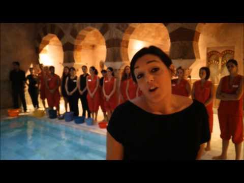 El equipo de Hammam Al Ándalus Córdoba se moja por el ELA #IceBucketChallenge