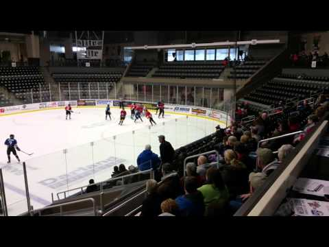 2016 Omaha Hockey High School All-Star Game, period 1