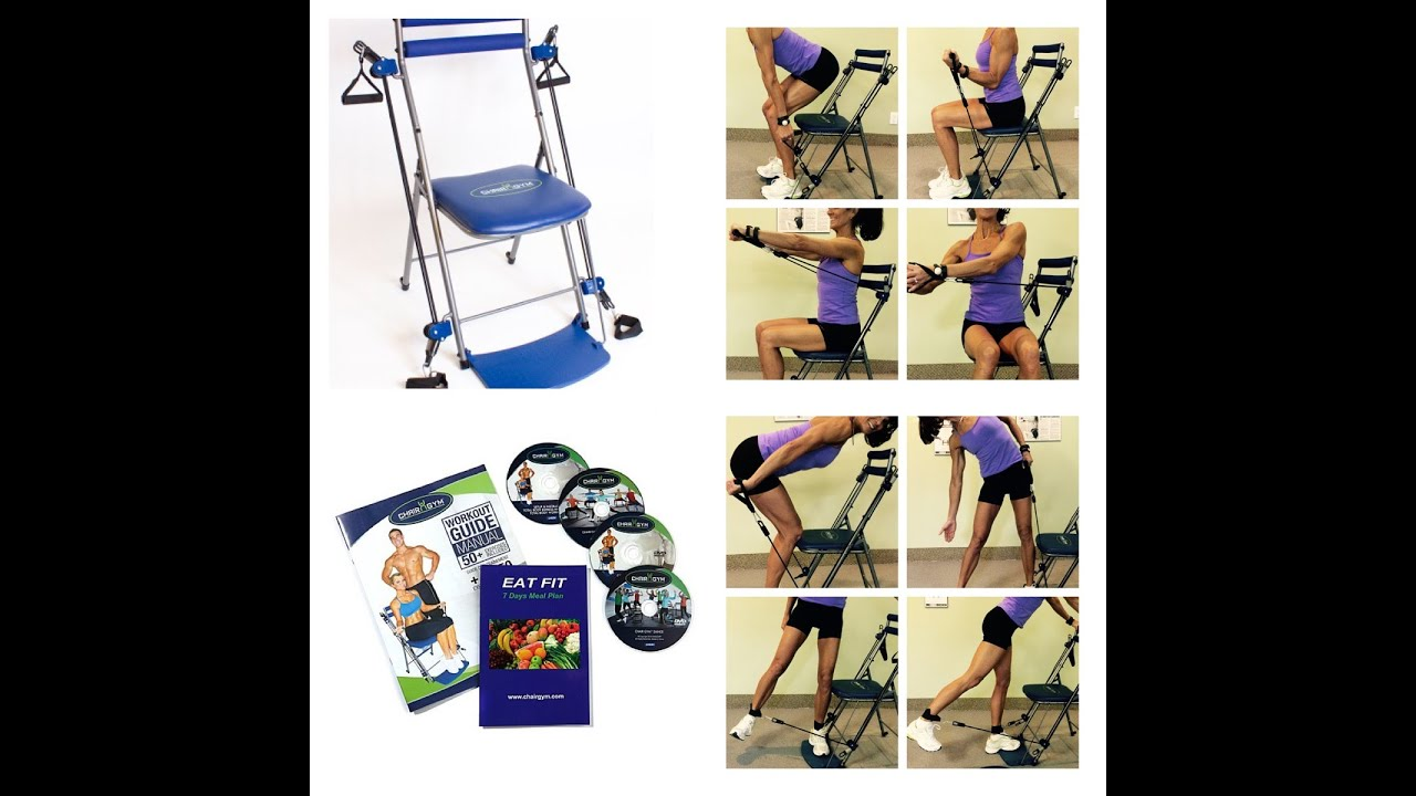 chair gym exercise system with twister seat costco dining chairs rosalie brown s awesome workout youtube