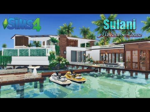 The Sims 4 Houses 4 Modern Mansion Mansión Moderna Th