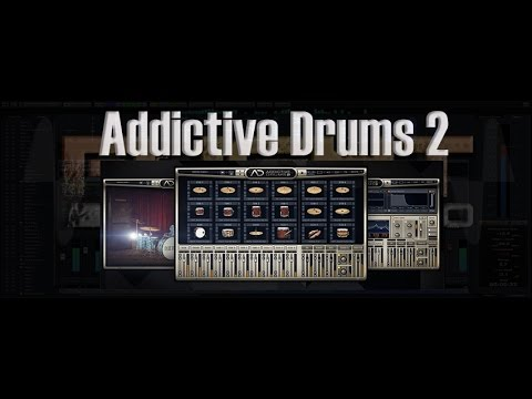 addictive drums 2 xln audio youtube. Black Bedroom Furniture Sets. Home Design Ideas