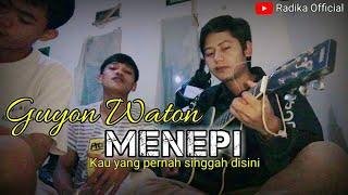 Menepi - Guyon waton | cover randiansyah (Chord dasar) #radikaofficial