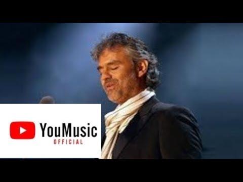 Andrea Bocelli Con Te Partiro Legendado Youtube Andrea