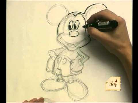 Como Dibujar Mickey Mouse Youtube