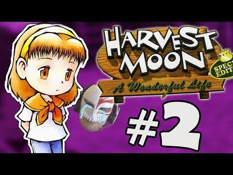 Generate SOFRÊNCIA DÓI TANTO.. - Harvest Moon: A Wonderful Life #2 Screenshots