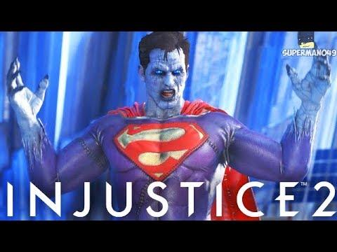 "BIZARRO GAMEPLAY! 680 DAMAGE COMBO! - Injustice 2 ""Bizarro"" Gameplay (Bizarro Premier Skin)"