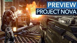 Project Nova - Gameplay-Preview zum PC-Shooter in der Welt von Eve Online