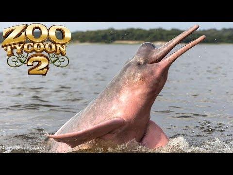 Zoo Tycoon 2: Amazon River Dolphin Exhibit Speed Build