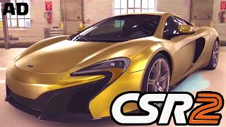 CSR2 Gold McLaren Gameplay! - CREW COMPETITION GET FREE PRIZES NOW!