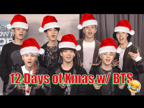 12 Days of Xmas with BTS