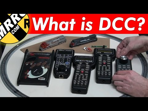 🔴DC to DCC – Understanding digital command control how DCC works – DCC explained