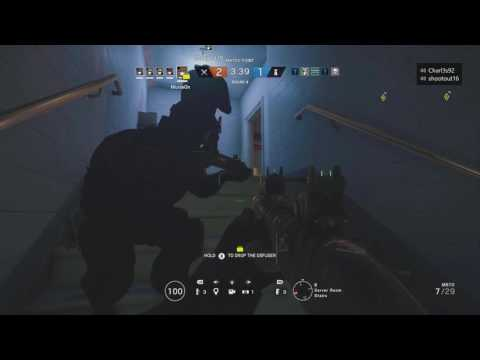 Best Tactic For Rainbox Six Siege/ Recruit Rush Xbox Party Funny Moment